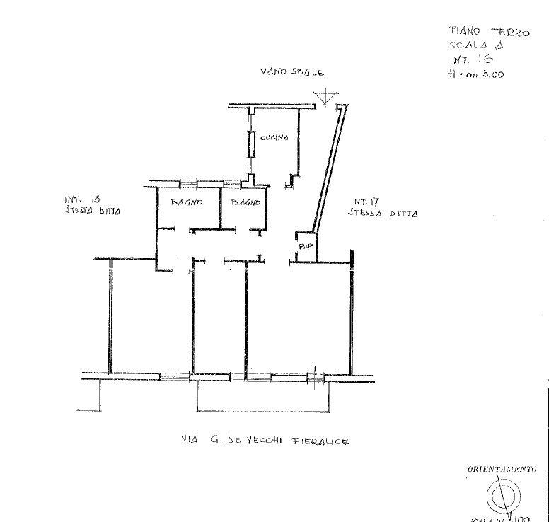 Int. 16, piano 3°